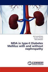 Mda in Type-II Diabetes Mellitus with and Without Nephropathy