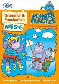 Letts Monster Practice - Grammar Age 5-6