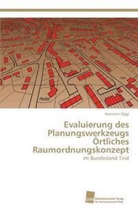 Evaluierung Des Planungswerkzeugs Ortliches Raumordnungskonzept