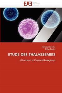 Etude Des Thalass�mies
