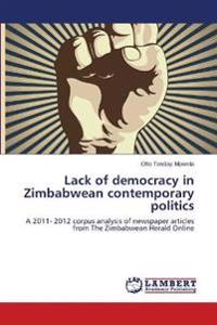 Lack of Democracy in Zimbabwean Contemporary Politics
