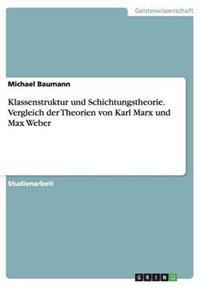 Klassenstruktur Und Schichtungstheorie. Vergleich Der Theorien Von Karl Marx Und Max Weber