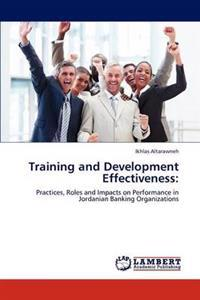 Training and Development Effectiveness