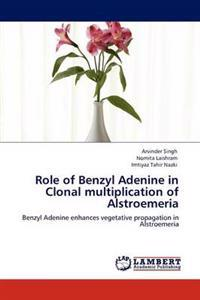 Role of Benzyl Adenine in Clonal Multiplication of Alstroemeria