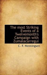 The Most Striking Events of a Twelvemonth's Campaign with Zumalacarregui