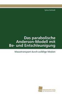 Das Parabolische Anderson-Modell Mit Be- Und Entschleunigung