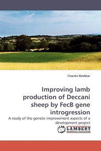 Improving Lamb Production of Deccani Sheep by Fecb Gene Introgression