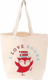 I Love Books Littlelit Tote Bag