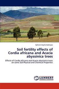 Soil Fertility Effects of Cordia Africana and Acacia Abyssinica Trees