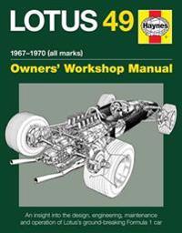 Haynes Lotus 49 1967-1970 All Marks Owners Workshop Manual