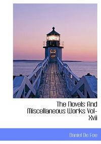 The Novels and Miscellaneous Works Vol-XVII