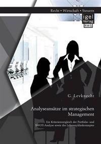 Analyseansatze Im Strategischen Management