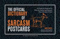 The Official Dictionary of Sarcasm Postcards