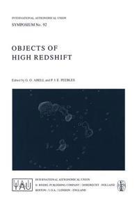 Objects of High Redshift