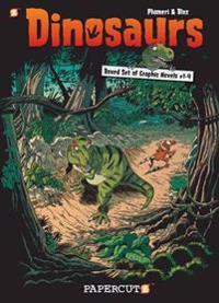 Dinosaurs Graphic Novels Boxed Set:  Vol. #1-4
