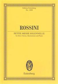 Petite messe solennelle - soloists, choir, harmonium and piano