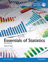 Essentials of Statistics with MyStatLab, Global Edition