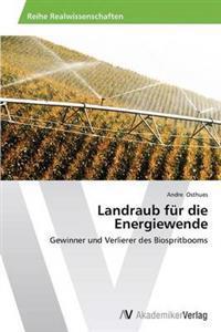 Landraub Fur Die Energiewende