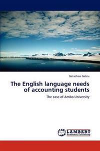 The English Language Needs of Accounting Students