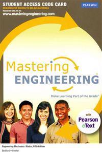 MasteringEngineering for Engineering Mechanics Standalone Student Access Code Card: Statics