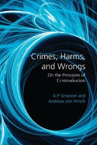 Crimes, Harms, and Wrongs