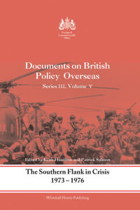 The Southern Flank in Crisis, 1973-1976