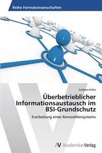 Uberbetrieblicher Informationsaustausch Im BSI-Grundschutz