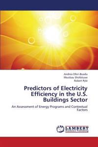 Predictors of Electricity Efficiency in the U.S. Buildings Sector