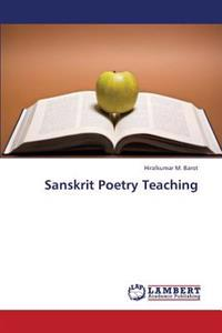 Sanskrit Poetry Teaching