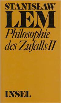 Philosophie des Zufalls. Zu einer empirischen Theorie der Literatur