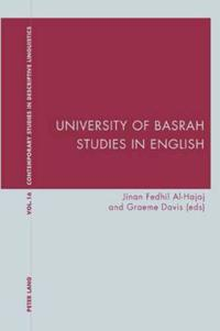 University of Basrah Studies in English