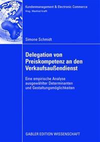 Delegation Von Preiskompetenz an Den Verkaufsau endienst