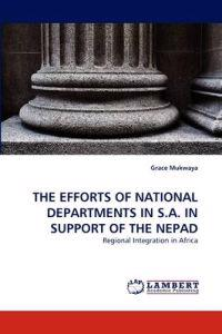 The Efforts of National Departments in S.A. in Support of the Nepad