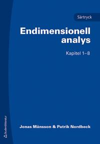 Endimensionell analys : särtryck kap. 1-8