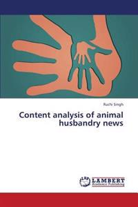 Content Analysis of Animal Husbandry News