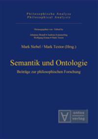 Semantik Und Ontologie