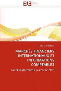 Marches Financiers Internationaux Et Informations Comptables