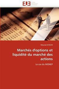 Marches D'Options Et Liquidite Du Marche Des Actions