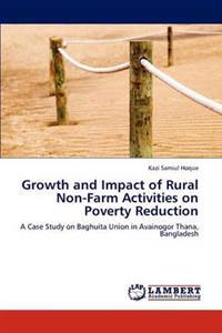 Growth and Impact of Rural Non-Farm Activities on Poverty Reduction