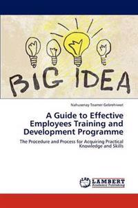 A Guide to Effective Employees Training and Development Programme