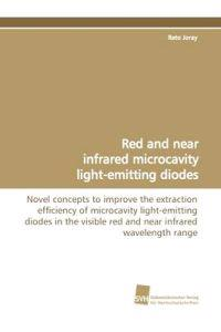 Red and Near Infrared Microcavity Light-Emitting Diodes