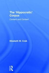 The 'Hippocratic' Corpus