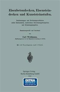 Eisenbetondecken, Eisensteindecken Und Kunststeinstufen