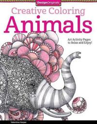 Creative Coloring Animals: Art Activity Pages to Relax and Enjoy!