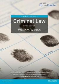 Criminal Law 5th edition MyLawChamber pack
