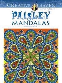 Paisley Mandalas Adult Coloring Book