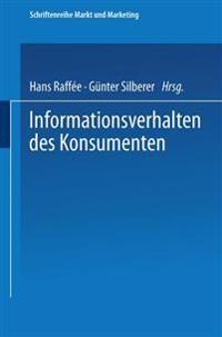 Informationsverhalten Des Konsumenten