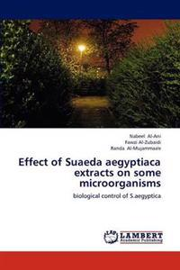 Effect of Suaeda Aegyptiaca Extracts on Some Microorganisms