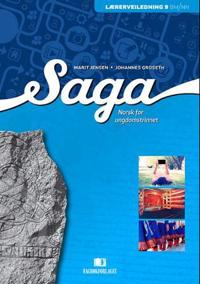 Saga - Marit Jensen, Johannes Groseth | Inprintwriters.org