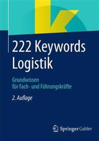 222 Keywords Logistik